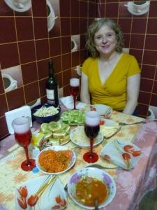 me dinner