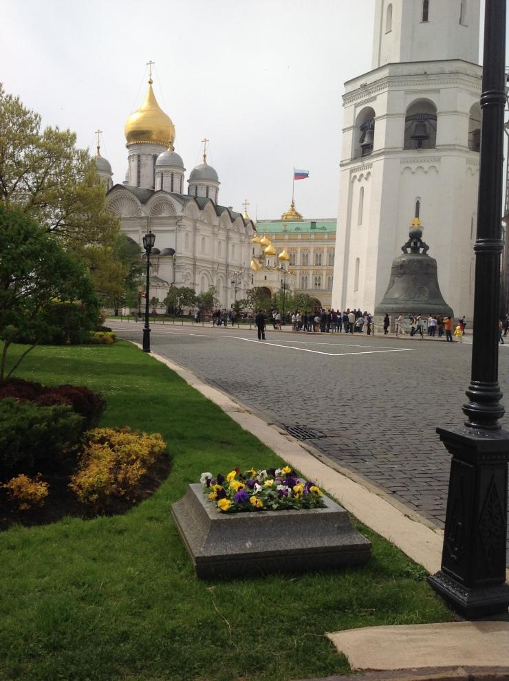 Kremlin near garden