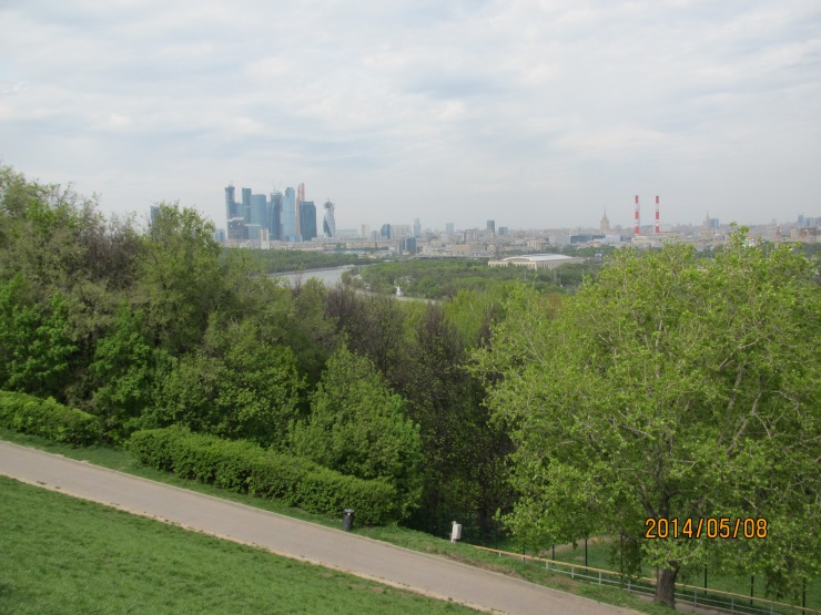 Moskva-siti from Sparrow hills