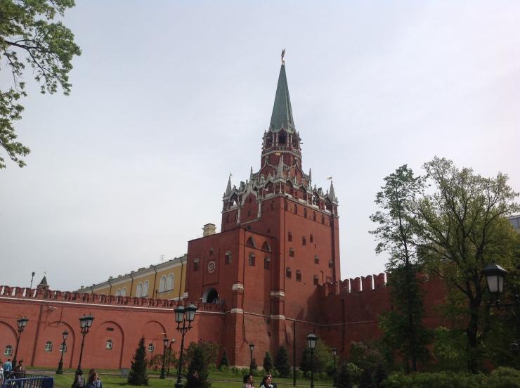 outside Kremlin