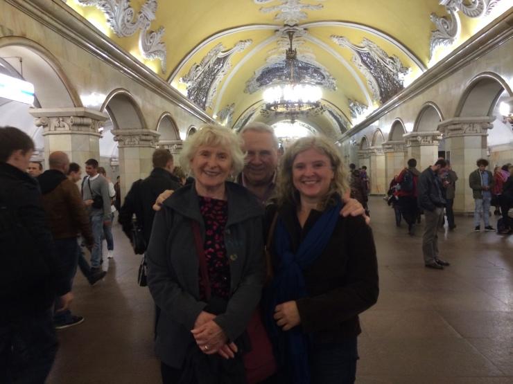 us in Komsomolskaya