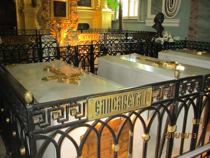 Elizabeth tomb