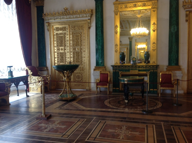 malachite drawing room