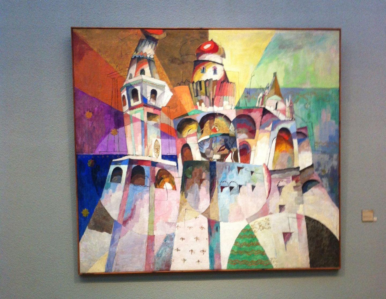 Lentulov, New Tretyakov Gallery, Moscow, Russia