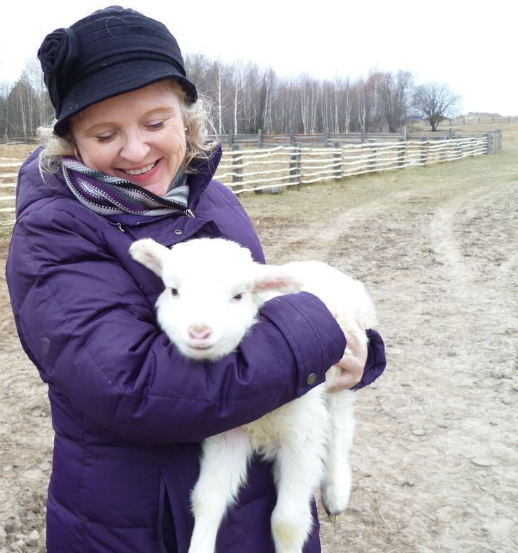 me and lamb1