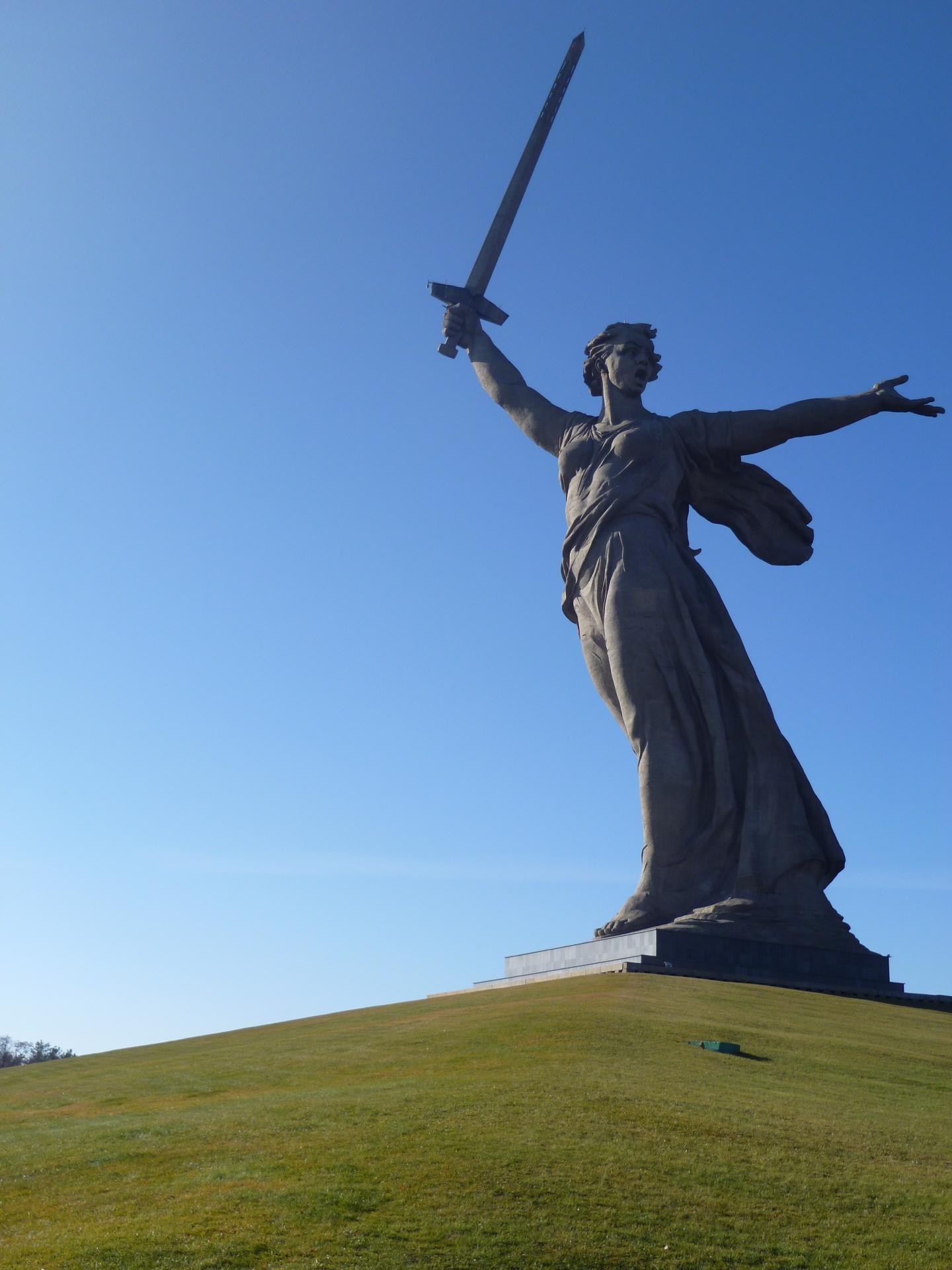 Russia Motherland Calls Volgograd