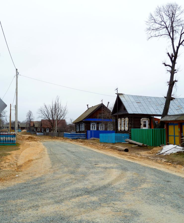 village of Aleshkino