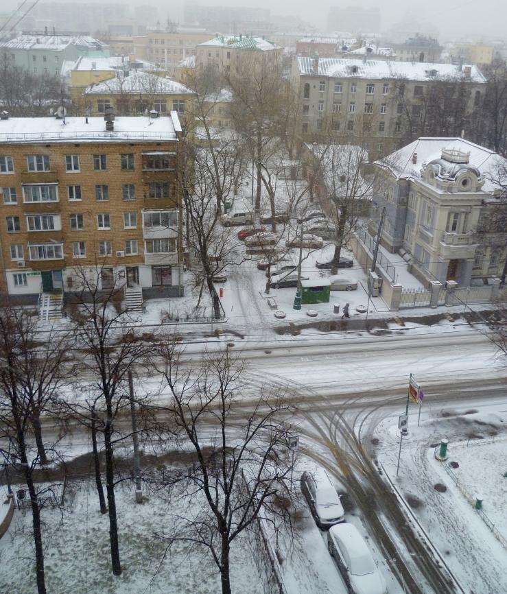 снег snow